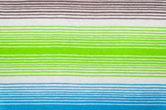 Teste padrão listrado da tela em cores pastel macias Fundo textured sumário Imagem de Stock