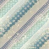 Teste padrão listrado diagonal Foto de Stock Royalty Free