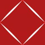 Teste padrão listrado do diamante ilustração royalty free