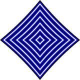 Teste padrão listrado do diamante ilustração do vetor