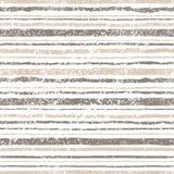 Teste padrão listrado do vintage Linhas cinzentas no fundo branco grungy ilustração do vetor
