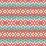 Teste padrão listrado geométrico ilustração stock