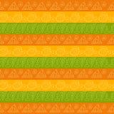 Teste padrão listrado geométrico tribal Fotografia de Stock