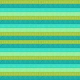 Teste padrão listrado geométrico tribal Imagens de Stock