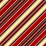 Teste padrão listrado sem emenda diagonal Fotografia de Stock Royalty Free