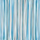 Teste padrão listrado vertical azul. Vetor Foto de Stock