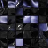 Teste padrão lustroso da telha Fotografia de Stock