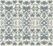 Teste padrão luxuoso com o ornamento floral para seu projeto criativo Imagem de Stock Royalty Free