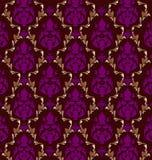 Teste padrão luxuoso de brocado Imagens de Stock Royalty Free