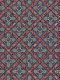 Teste padrão marroquino do estilo Imagens de Stock Royalty Free