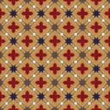 Teste padrão medieval Fotos de Stock Royalty Free