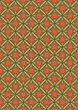 Teste padrão medieval abstrato sem emenda do vetor Fotos de Stock Royalty Free