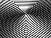 Teste padrão metálico de prata da forma da coroa Foto de Stock