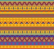 Teste padrão mexicano Fotografia de Stock