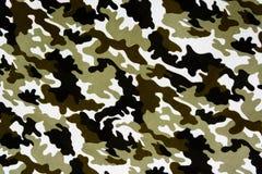 Teste padrão militar da tela Fotografia de Stock Royalty Free