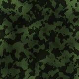 Teste padrão militar sujo Foto de Stock Royalty Free