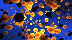 Teste padrão moderno bonito abstrato do cubo 3d ilustração royalty free
