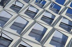 Teste padrão moderno da arquitetura de um estádio Fotografia de Stock Royalty Free