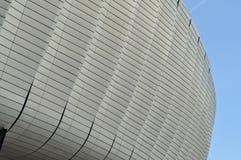 Teste padrão moderno da arquitetura de um estádio Foto de Stock