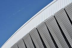 Teste padrão moderno da arquitetura de um estádio Fotos de Stock