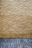 Teste padrão moderno da parede de pedra foto de stock