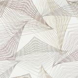 teste padrão moderno do art deco geométrico dos anos 30 Fotos de Stock Royalty Free