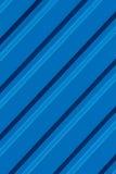 Teste padrão moderno do fundo da listra azul Fotos de Stock Royalty Free