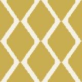 Teste padrão moderno sem emenda de Ikat para a decoração home ou a Web Fotografia de Stock Royalty Free