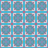 Teste padrão moderno Tangled ilustração royalty free