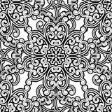Teste padrão monocromático Imagem de Stock Royalty Free