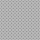 Teste padrão monocromático abstrato sem emenda Imagens de Stock