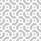 teste padrão monocromático geométrico sem emenda Imagem de Stock Royalty Free