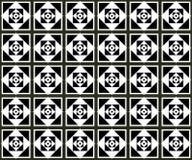 Teste padrão monocromático sem emenda 18 Fotos de Stock Royalty Free