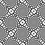 Teste padrão monocromático sem emenda do snakeskin do projeto ilustração do vetor
