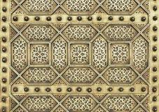 Teste padrão mouro do metal imagens de stock royalty free