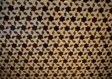 Teste padrão mouro no Alcazar real, Sevilha, Espanha Fotografia de Stock