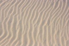 Teste padrão na areia imagem de stock