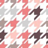 Teste padrão na moda da tela Fotografia de Stock