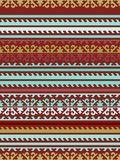 Teste padrão nacional kirguiz sem emenda do ornamento ilustração stock