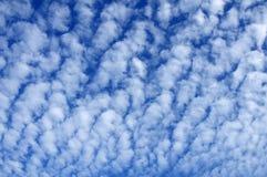 Teste padrão natural da nuvem Foto de Stock Royalty Free