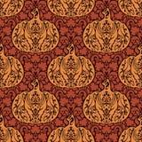 Teste padrão natural do outono abstrato sem emenda Imagem de Stock