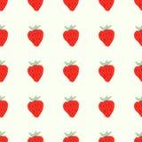 Teste padrão natural sem emenda da cor de maduro vermelho Imagens de Stock Royalty Free