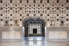 Teste padrão no palácio, Jaipur foto de stock royalty free