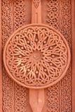 Teste padrão no tufo vulcânico, textura de Khachkar, armênio tradicional Imagem de Stock Royalty Free