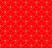 Teste padrão norueguês festivo sem emenda do pixel do inverno de ano novo do Natal - estilo escandinavo fotos de stock royalty free