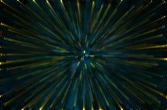 Teste padrão obscuro da luz abstrata da estrela do zumbido para o fundo fotos de stock