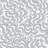 Teste padrão ondulado abstrato sem emenda ilustração stock