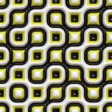 Teste padrão orgânico Checkered Imagem de Stock