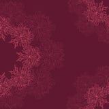 Teste padrão orgânico redondo decorativo Foto de Stock Royalty Free