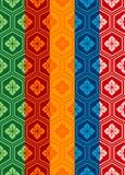 Teste padrão oriental Imagem de Stock